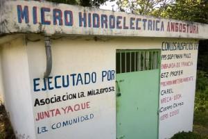 Microhidroeléctrica en Angostura