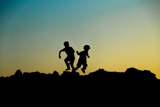Estos niños tienen una historia que contar